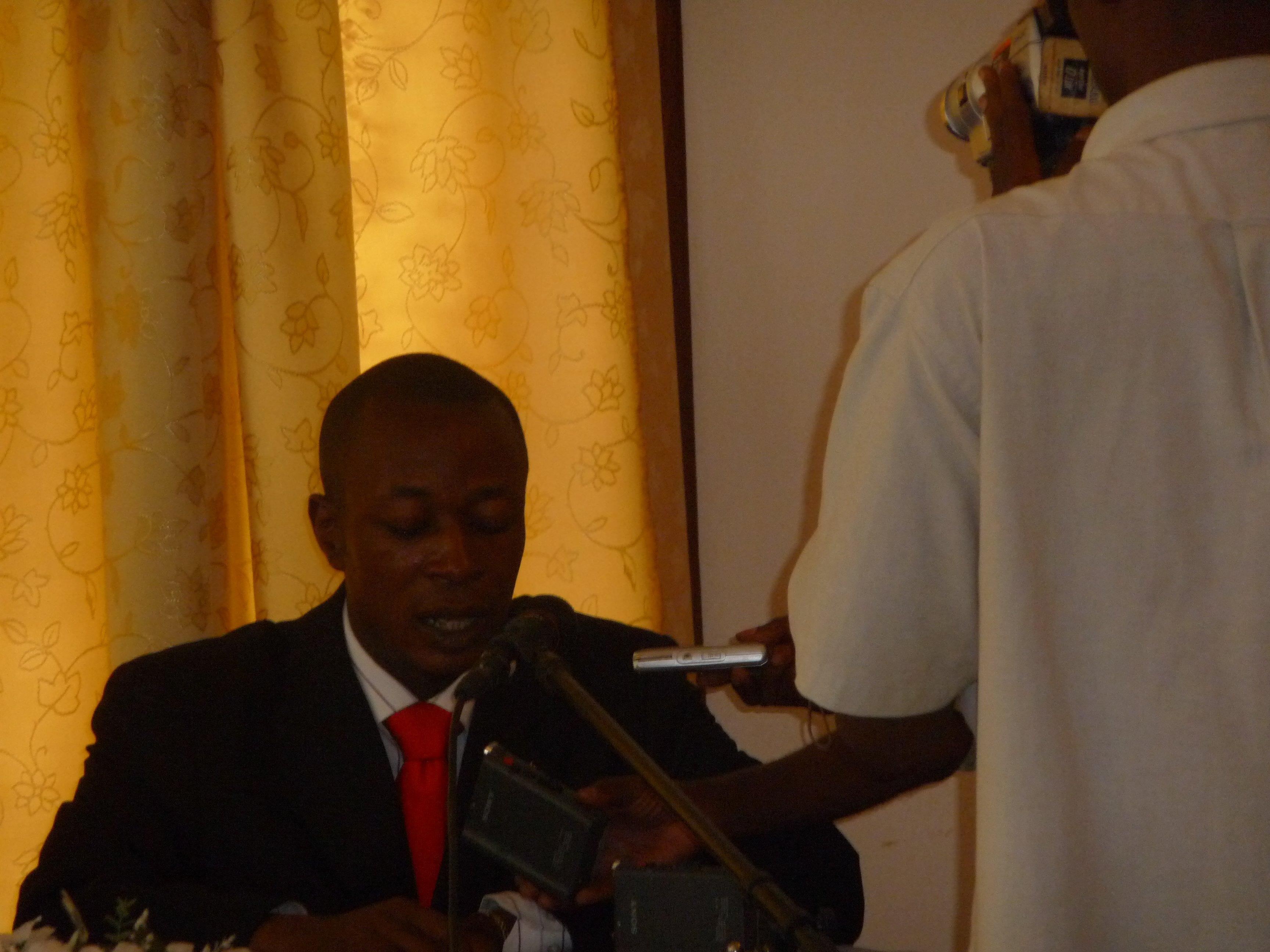 Mot de Bienvenue du Maire aux Participants
