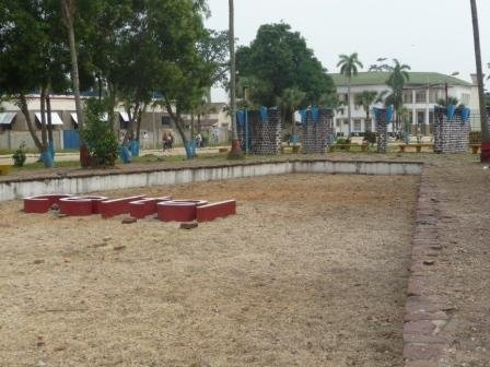 La place des Martyrs à Kisangani
