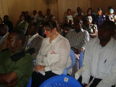 Les participants lors de la cérémonie de lancement de la campagne