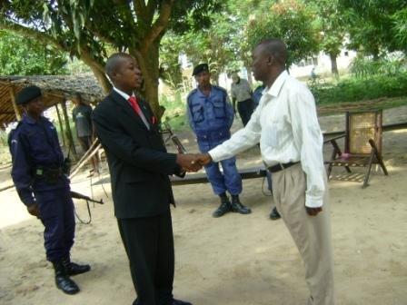 Le Maire de la Ville est reçu par le Directeur de la Prison centrale