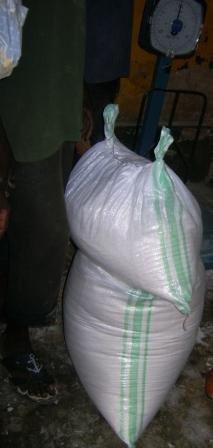 Farine de manioc + Huile