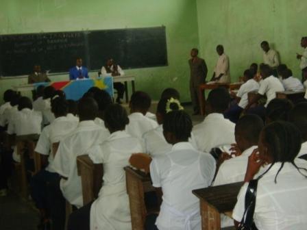 Les élèves de l'IFCEPS et l'Autorité Urbaine