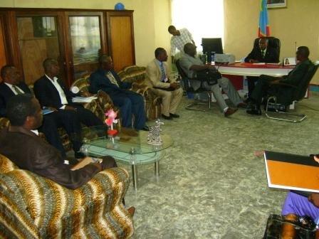 Rencontre Délégation du MINIDECAT et Territoriale Ville de Kisangani
