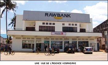 Agence de Raw Bank à Kisangani