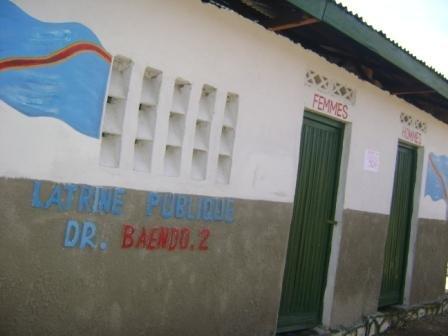 Docteur Baendo 2, construit sur fonds propres de l'Hôtel de ville de Kisangani