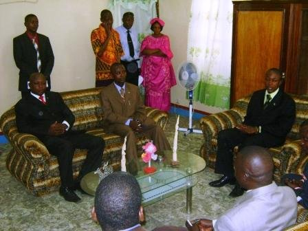 Le nouveau Président de l'Assemblée provinciale présente ses civilités à l'Autorité